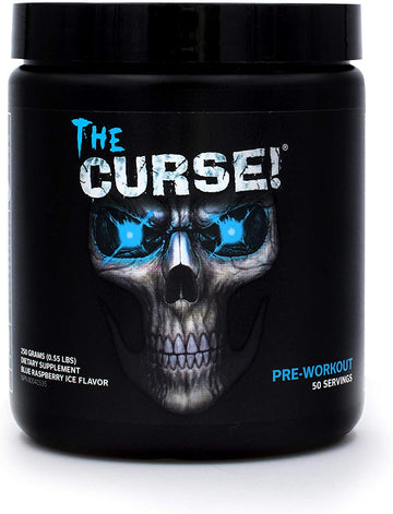 Cobra Labs The Curse The Ultimate Pre Workout 250g Blue Raspberry Ice