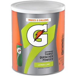 Gatorade powder drink, lemon lime flavor 1.44kg