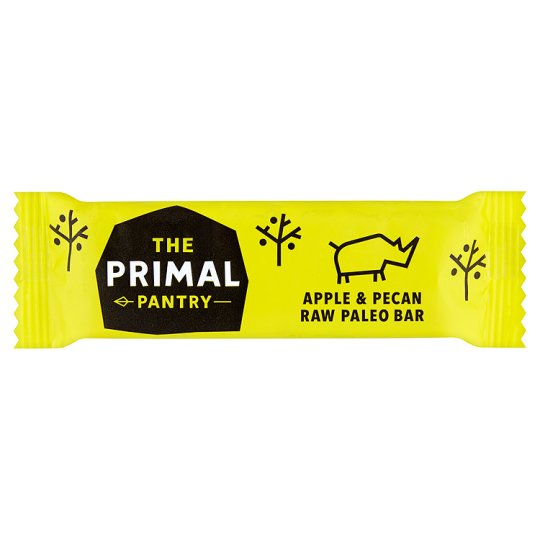 The Primal Pantry Apple & Pecan Raw Pale 45g | 4 for £1