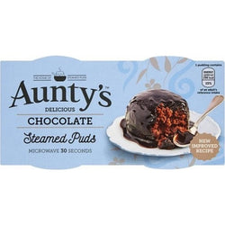 Aunty's Chocolate Fudge Steamed Puds 2x95g