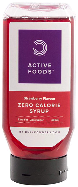 Zero Calorie Strawberry Syrup, 400 ml
