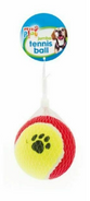 Pets Play Red & Yellow Jumbo Tennis Ball