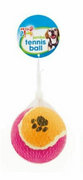Pets Play Pink & Orange Jumbo Tennis Ball