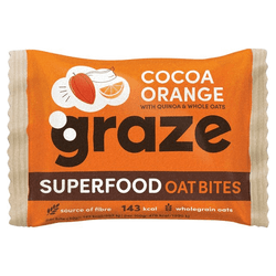 Graze Cocoa & Orange Flapjack 30G | 3 for £1