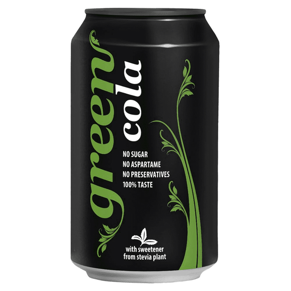 Green Cola Can 330ml | Offer 4 for £1