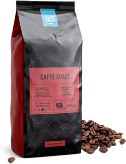 "Happy Belly Coffee Beans ""Caffè Soave"" 500g"
