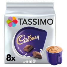 Tassimo Cadbury Hot Chocolate 8 Pods 240g