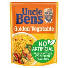 Uncle Bens Microwave Golden Vegetable Rice 250g | offer 2 for £1