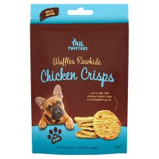 Tail Twisters Chicken Wuffles Dog Treats 80g | 2 for £1