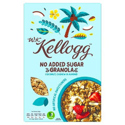 Kellogg's No Added Sugar Granola Coconut, Cashew & Almond 570g