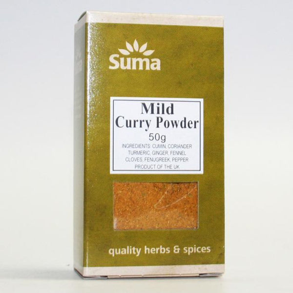 Suma Wholefoods Mild Curry Powder 50g x | Offer  2 for £1