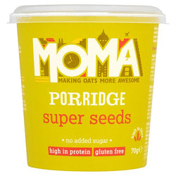 Moma Instant Porridge Pots - Super Seeds