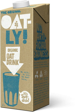 Oatly Organic - 1ltr - Oat Drink