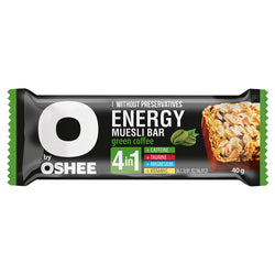 Oshee Energy Muesli Bar Green Coffee 40g | 3 for £1