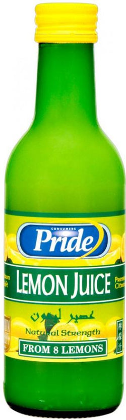 Pride Lemon Juice 250ml | Offer 2 for £1