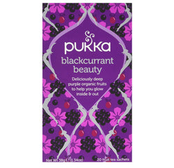 Pukka Blackcurrant Beauty Organic Tea 20 bags