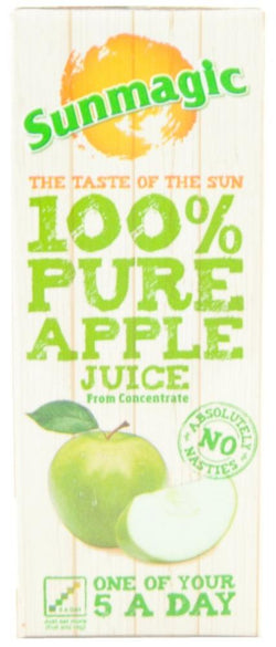 Sunmagic 100% Pure Apple Juice 200ml | 5 for £1