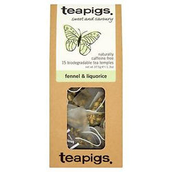 Teapigs Fennel and Liquorice - 15 Bags - 37.5g