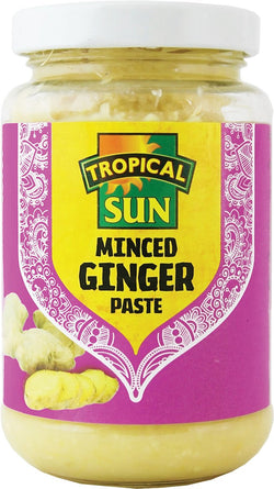 Tropical Sun Minced Ginger Paste 210g | offer 2 for £1