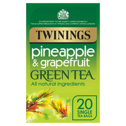 Twinings Green Tea And Pineapple 20S 40G
