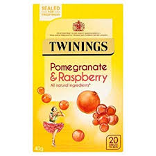 Twinings Pomegranate & Raspberry Tea Bags 40g