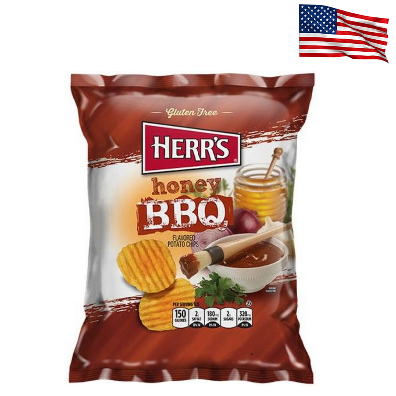USA Herr's Honey BBQ Potato Chips 28.4g
