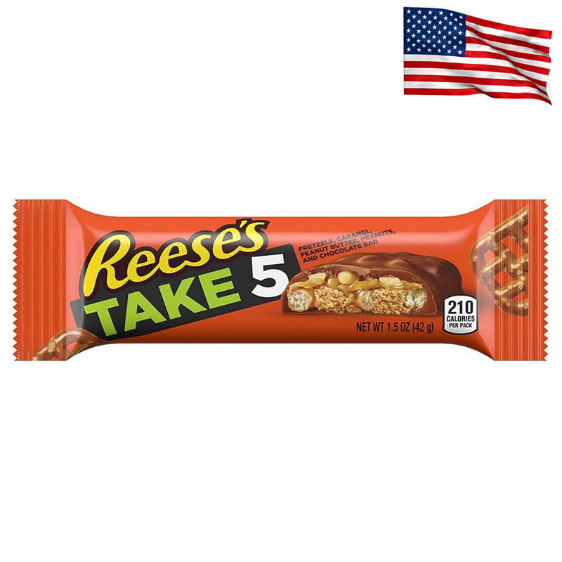 USA Reese's Take 5 Chocolate Bar 42g