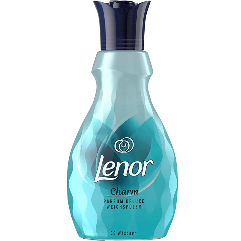Lenor Charm Deluxe 36 Wash Fabric Conditioner  900ml Softener Perfume