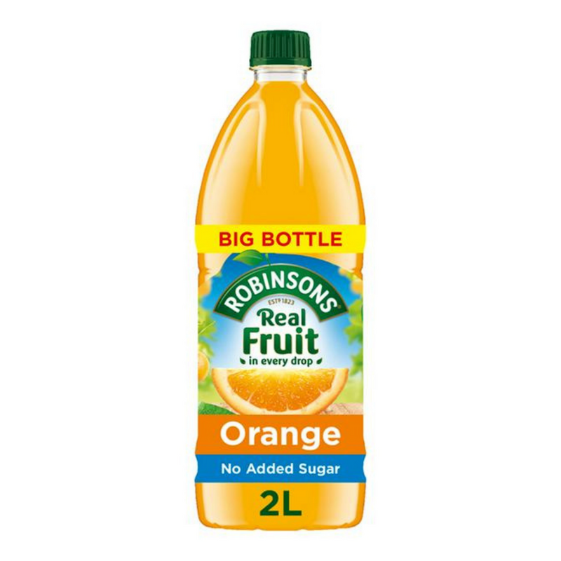 Case Of 6 x Robinsons Orange Real Fruit 2L Squash