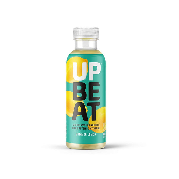 Upbeat Spring Water Enriched with Protein (Summer Lemon) 500ml