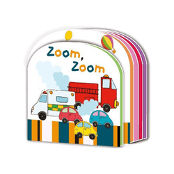 Zoom Zoom Childrens Foam Padded Book