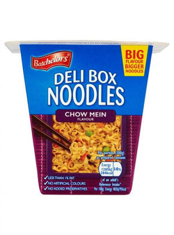 Batchelors Deli Box Noodles Chow Mein Flavour 80g | Offer 2 for £1