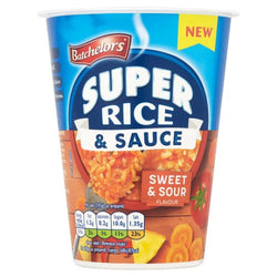 Batchelors Super Rice and Sauce Sweet and Sour Flavour 60G | Offer 2 for £1