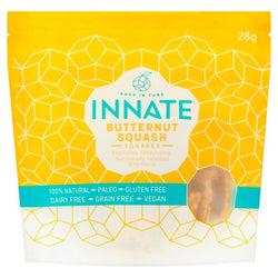 Food in Tune Innate Butternut Squash Squares - 28g | Offer 2 for £1