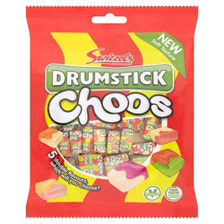 Swizzels Drumstick Choos 5 Assorted Flavours 150g