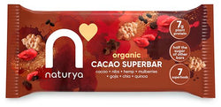 Naturya Organic Cacao Superbar 40g | Offer 2 For £1