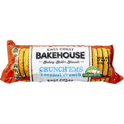 East Coast Bakehouse Crunch'ems Coconut Crunch 215 g | 3 for £1