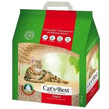 Cats Best Öko Plus Cat Litter, 4.3Kg