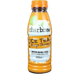 Charbrew Ice Tea Orange Tropica with Real Tea 400ml | Offer 3 for £1