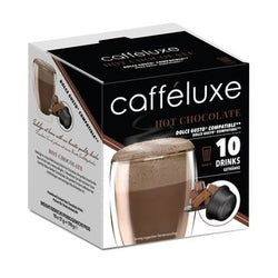 Caffeluxe Hot Chocolate Dolce Gusto 10 Pods