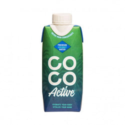 Coco Active Coconut  Water 330ml | Offer 3 For £1