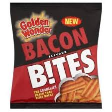 Golden Wonder Bacon Flavour Bites 25g