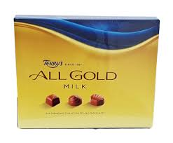 Terrys All Gold Milk Chocolate Box 190g