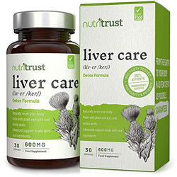 Nutritrust Liver Care 600mg | Mix N Match Any Nutritrust 30 Servings Any 5 for £10