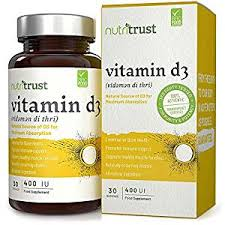 Nutritrust Vitamin D3 400ui 30  Servings | Mix N Match Any Nutritrust 30 Servings Any 5 for £10