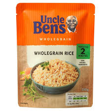 Uncle Bens Microwave Wholegrain Rice 250G | 2 for £1