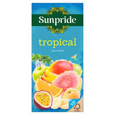 Sunpride Tropical Juice Drink 1 Litre | 2 for £1