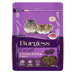 Burgess - Excel Chinchilla 1.5kg