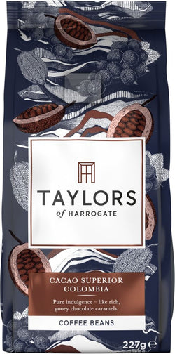 Taylors of Harrogate Cacao Superior Colombia Coffee Beans 227g