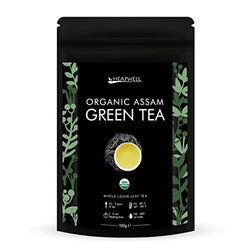 Heapwell Organic Assam Loose Green Tea